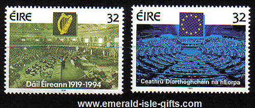 Ireland 1994 Parliamentary Elections Mnh Set Of 2