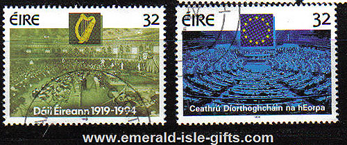Ireland 1994 Parliamentary Elections Used Set Of 2