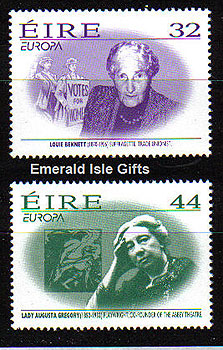 Ireland 1996 Europa: Famous Women Mnh Set Of 2