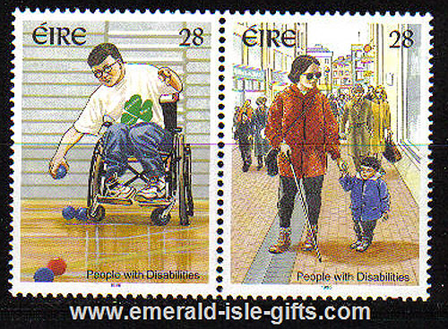 Ireland 1996 People With Disabilities Mnh Set Of 2