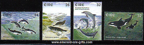 Ireland 1997 Marine Mammals Set Of 4 Mnh