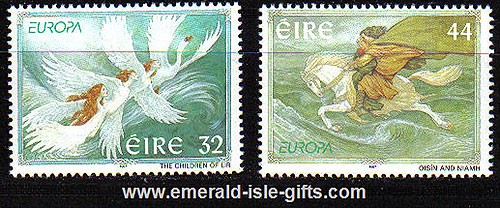 Ireland 1997 Europa: Stories & Legends Mnh Set Of 2