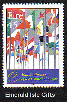 Ireland 1999 Council Of Europe Mnh