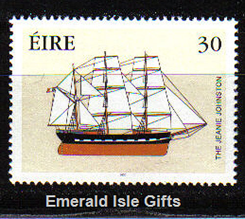 Ireland 2000 Jeanie Johnston Famine Ship Mnh