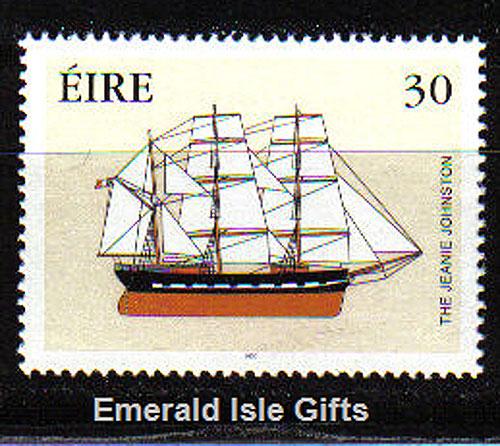 Ireland 2000 Jeanie Johnston Famine Ship Mnh