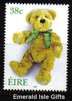 Ireland 2002 Love Stamp Teddy Bear Mnh