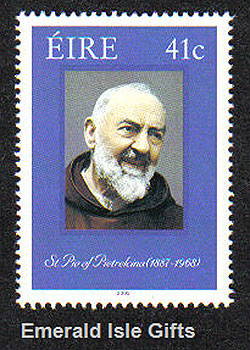Ireland 2002 Canonisation Of Padre Pio Mnh