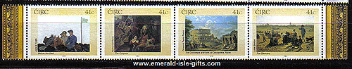 Ireland 2002 National Gallery Part 1 Set Of 4 Mnh
