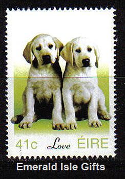 Ireland 2003 Love Stamp Puppies Mnh