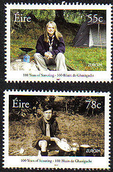 Ireland 2007 Europa Co-operation Set Of 2 Mnh Stamp