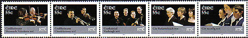 Ireland 2007 Rte Performing Arts Set Of 5 Mnh