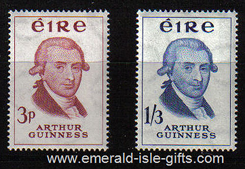 Ireland 1959 Arthur Guinness MNH Set Of 2