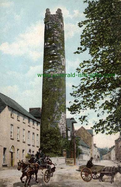 Cloyne - Cork - B/W - Round Tower