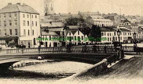 North Gate Bridge - B/W - Cork City