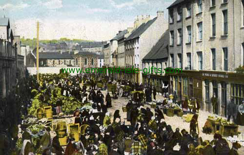 Paddys Market - Cork City - old photo