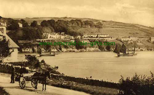 Glandore - Cork - B/W picture