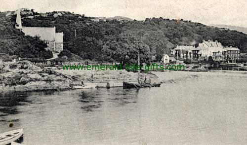 Glengarriff - Cork - B/W - Boats