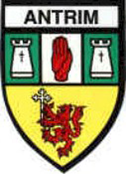 Antrim County Embroidered Badge