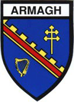 Armagh County Embroidered Badge