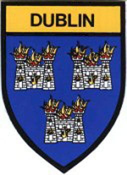 Dublin County Embroidered Badge