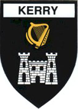 Kerry County Embroidered Badge
