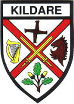Kildare County Embroidered Badge
