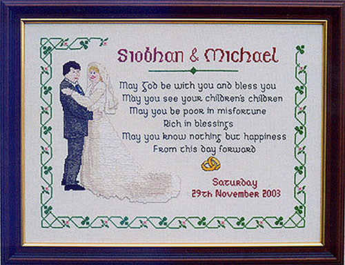 An Irish Wedding Sampler
