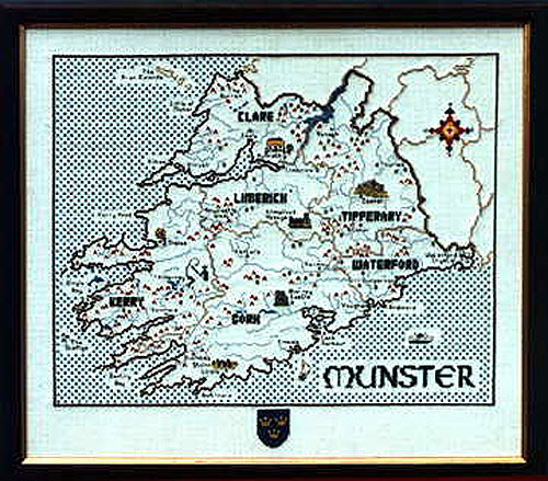 Munster Cross Stitch Pattern / Kit