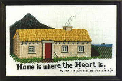 Irish Traditional Cottage Cross Stitch