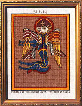 St Luke The Evangelist Book of Kells