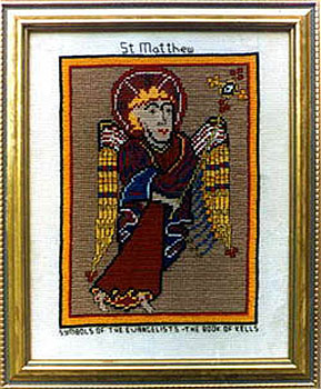 St Matthew Evangelist Book of Kells