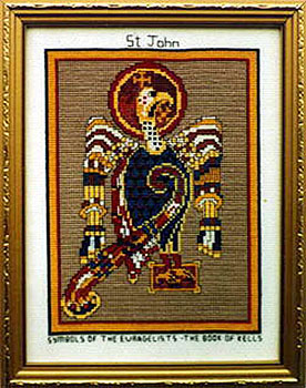 St John The Evangelist Book Kells