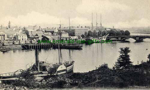 Coleraine - Derry - B/W Town