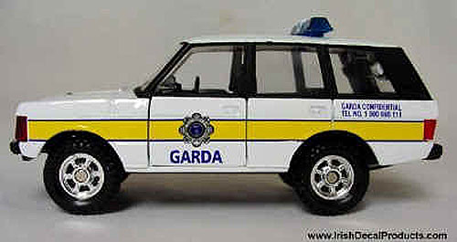 Corgi Garda (Irish Police) Jeep Die Cast