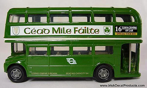 CIE Dublin Double Decker Bus