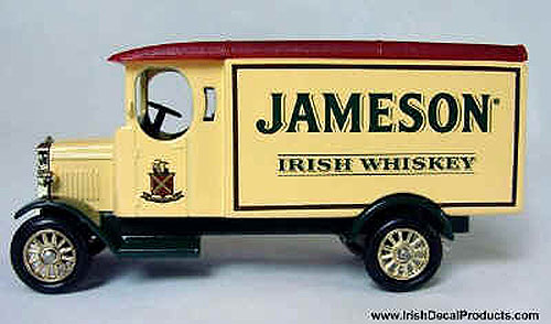 Old Jameson Irish Whiskey Die-cast Model