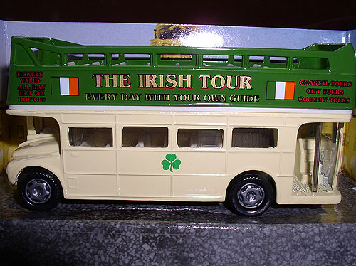 Landrover Style Irish Tour Bus