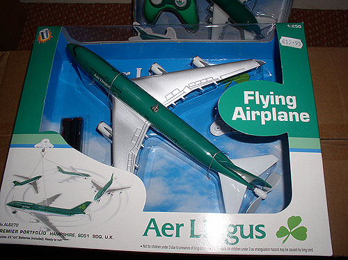 Aer Lingus Flying Airplane