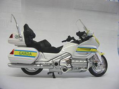 Irish Police Gardai Motorbike Honda