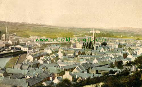 Newry - Down - Aerial view