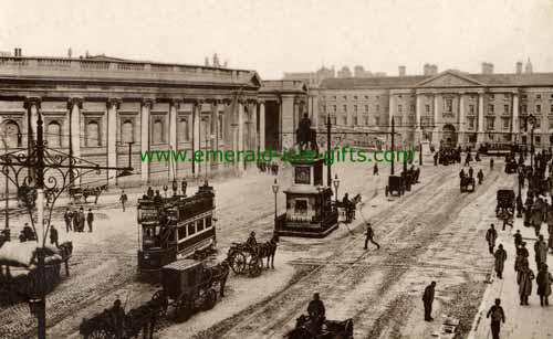 College Green - Dublin City - Trams