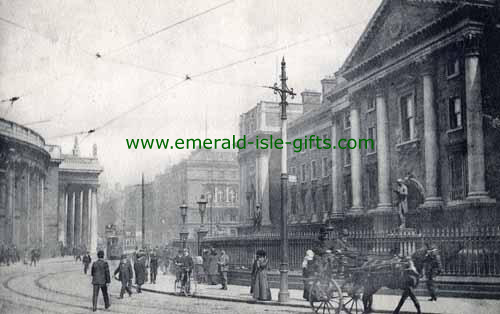 College Green - Dublin City - 1905