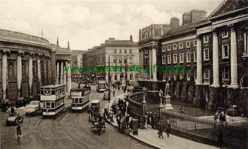 Green, College - Dublin City - Facing North