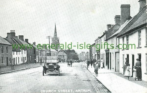 Antrim - Antrim Town - Church Street