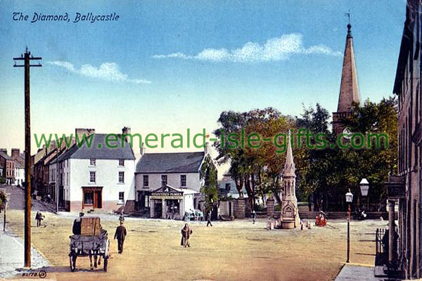 Antrim - Ballycastle - Sunny day at the Diamond