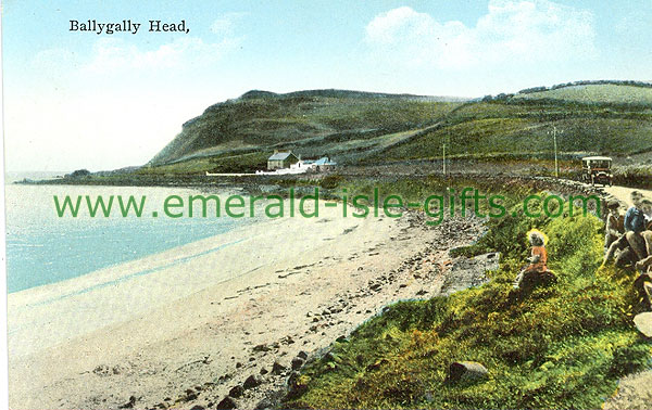 Antrim - Ballygally - Ballygally Head & Bay