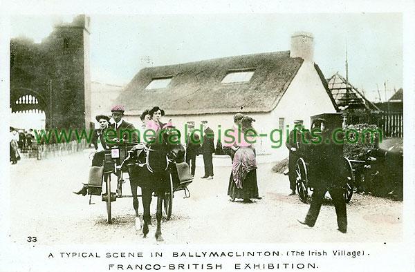 Antrim - Ballymaclinton - Village Scene / Franco British Exhib.