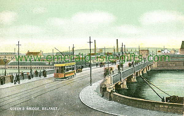 Antrim - Belfast - Queens Bridge