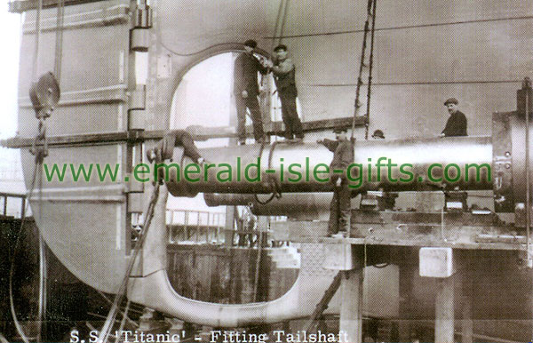Antrim - Belfast - Titanic - Fitting Tailshaft