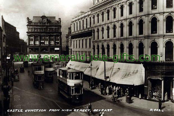 Belfast - Castle Junction from High St
